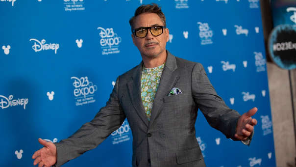 Robert Downey Jr. en la D23 Expo 2019
