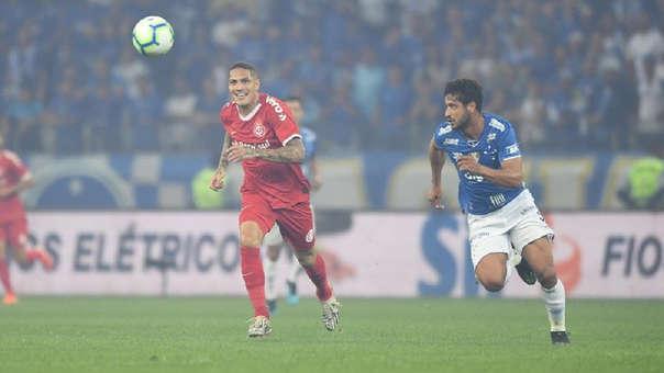 En el partido de ida, Inter ganó 1-0 a Cruzeiro por la Copa Brasil
