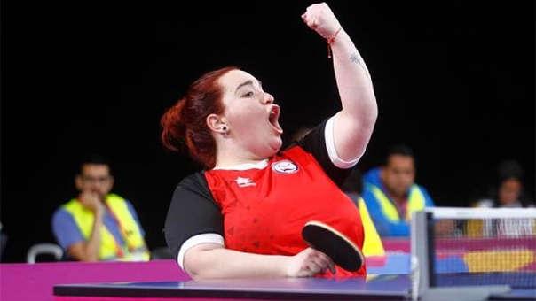 La para tenista Tamara Leonelli consiguió la primera medalla de oro para Chile.