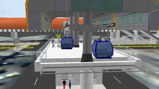 El primer teleférico beneficiará a entre 7 mil y 12 mil personas.