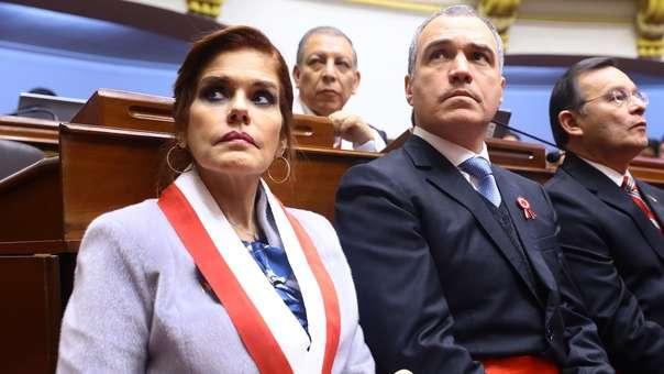 Mercedes Aráoz se refirió a la situación política actual del país.
