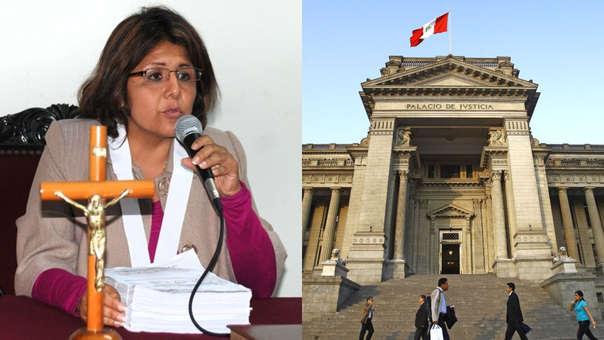 Magistrada María León Yarango