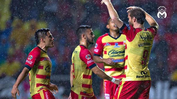 Monarcas Morelia venció 2-0 a Pumas por la Liga MX