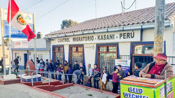 Control Migratorio Kasani (Puno)