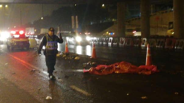Cadáver de hombre hallado bajo Puente Benavides