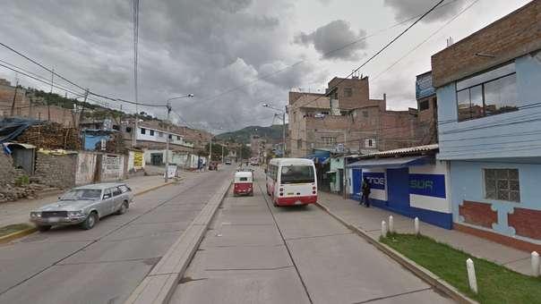 El hecho se produjo en el distrito de San Juan Bautista, Ayacucho.