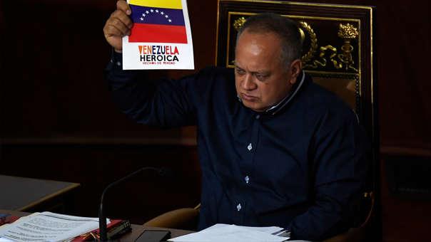 VENEZUELA-CRISIS-CABELLO