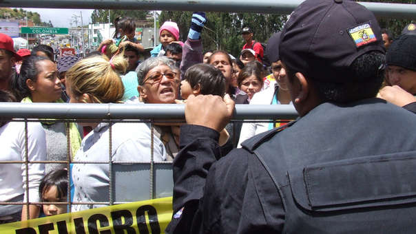 ECUADOR VENEZUELA CRISIS MIGRACIÓN
