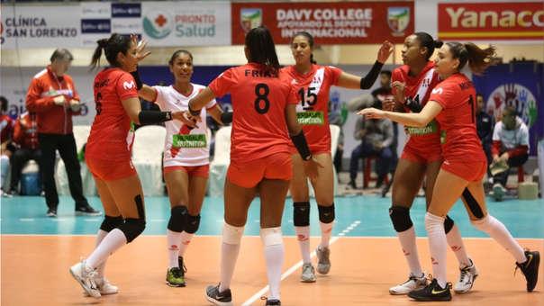 Perú venció 3-0 a Bolivia por la primera fecha del Campeonato Sudamericano de Voleibol