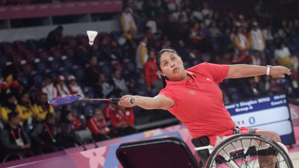Pilar Jáuregui debutó con victoria en los Juegos Parapanamericanos