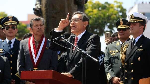 Fuerza Popular criticó nuevamente al presidente Martín Vizcarra.