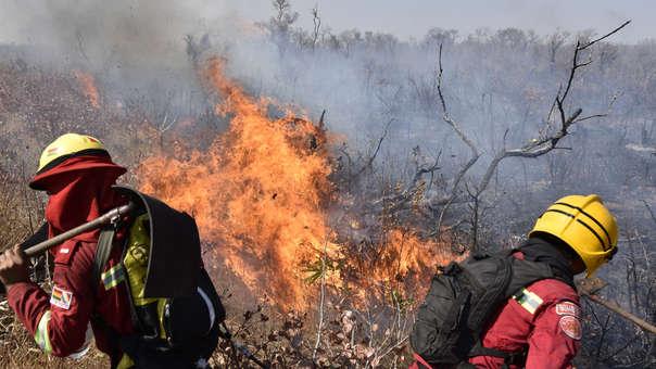 BOLIVIA-FIRE