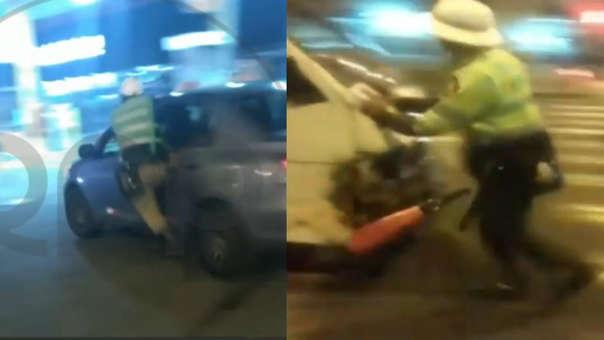 Agresiones contra policías