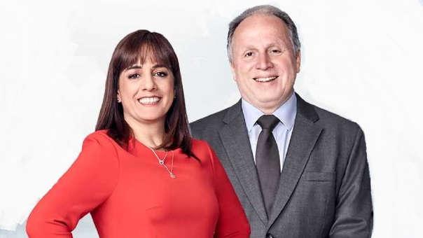 Patricia del Río y Fernando Carvallo