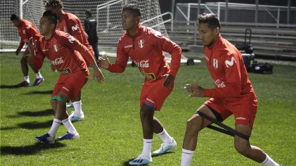 La Selección Peruana entrenó por primera vez en Nueva Jersey