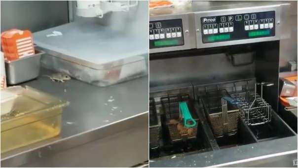 Un cliente grabó el incidente.