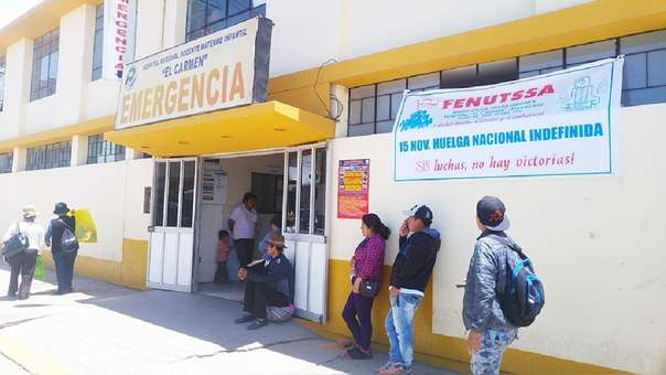 Hospital Materno Infantil El Carmen de Huancayo, en Junín.