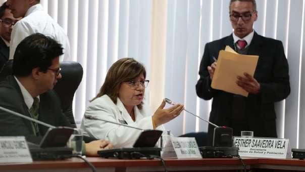 Ministra informó sobre la situación de su sector ante la Comisión de Salud.