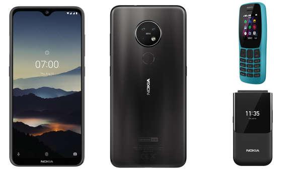Nokia agregó estos nuevos celulares a su catálogo.