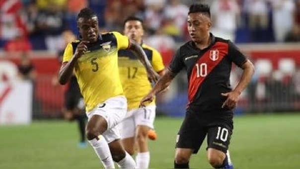 Perú se enfrenta a Ecuador en el Red Bull Arena de Nueva Jersey