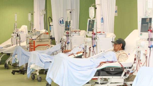 Más de 11 mil 500 pacientes reciben un tratamiento de diálisis.
