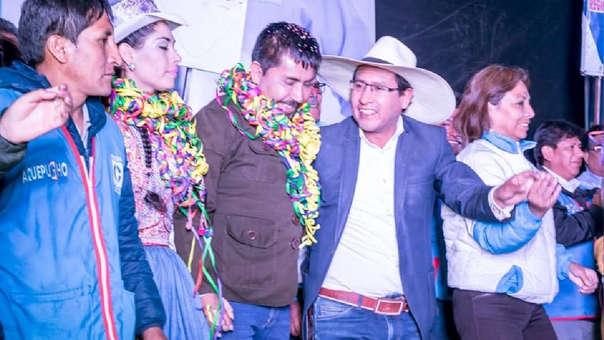 Cáceres Lica no se pronuncia sobre la denuncia de agresión que pesa contra su asesor Hugo Mendoza.