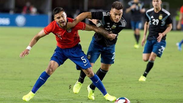Argentina y Chile empataron 0-0 en amistoso internacional
