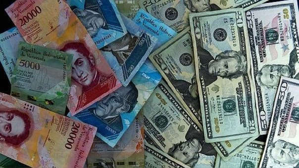 Este es el tipo de cambio en Venezuela.