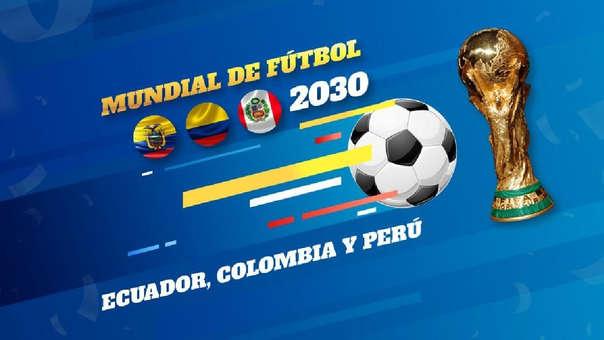 Presidente de Ecuador propuso a Perú y Colombia organizar Mundial 2030