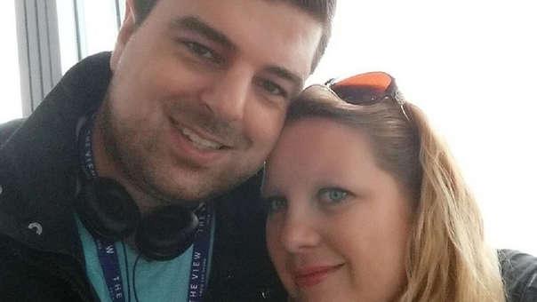 Shaun May y su esposa Laura