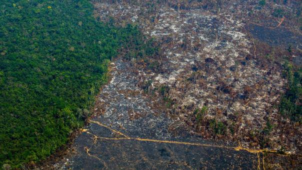 Deforestación en Brasi