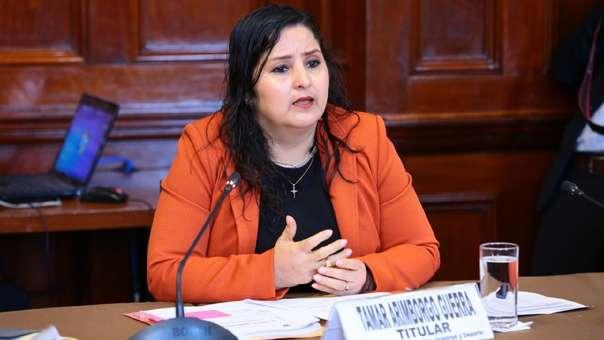 Tamar Arimborgo, presidenta de la Comisión de Educación.