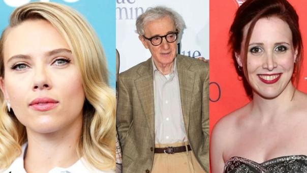 Scarlett Johansson, Woody Allen y Dylan Farrow