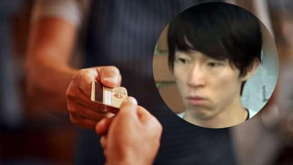 Yusuke Taniguchi no necesitaba de la tecnología para robar.