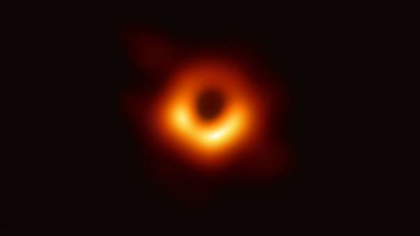 The first photo of a black hole, unveiled on April 10.