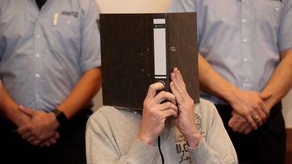 Andreas V., uno de los dos condenados. En su caso, se le imputó haber abusado de 23 menores de edad.