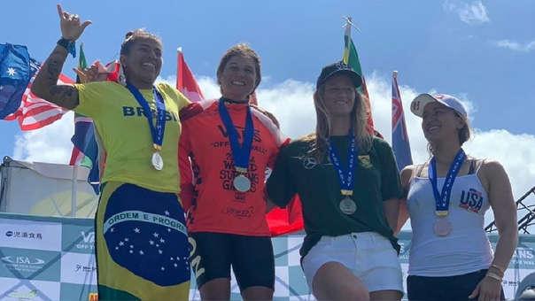 Sofía Mulanovich es campeona mundial de Surf