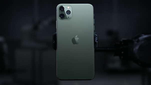 Este es el iPhone 11 Pro.