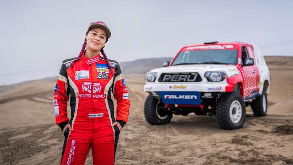 Fernanda Kanno está ilusionada con su tercera participación en el Dakar 2020