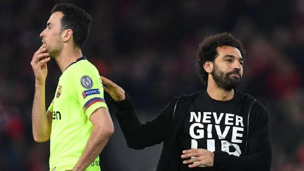 Liverpool se burla del Barcelona por el gol de corner que le hizo en la Champions League