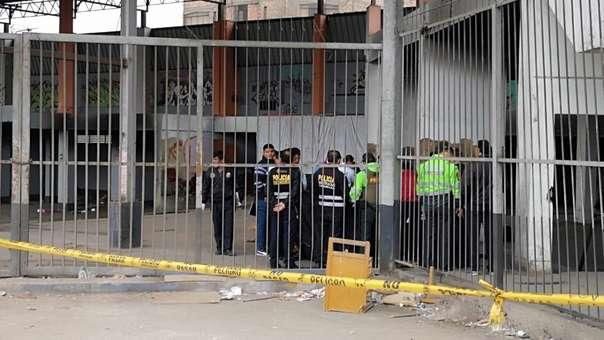 Los cuerpos fueron abandonados en un descampado en SMP.