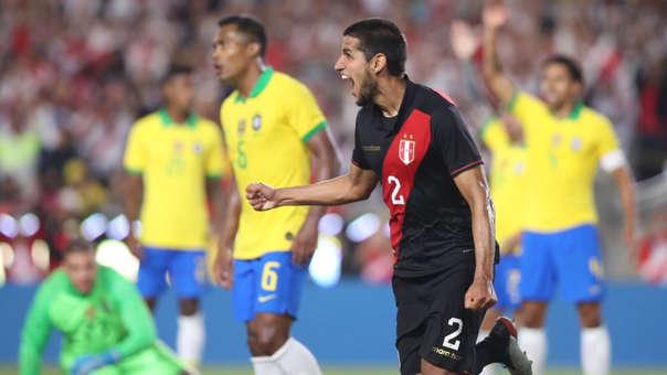 Con un gol de cabeza, el defensa Luis Abram marcó el único gol del partido que le dio la victoria a la 'bicolor'.