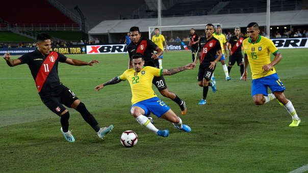 Peru Vs Brasil Con Neymar La Canarinha Cayo 1 0 En El Amistoso Internacional Desde Los Angeles Memorial Coliseum Rpp Noticias