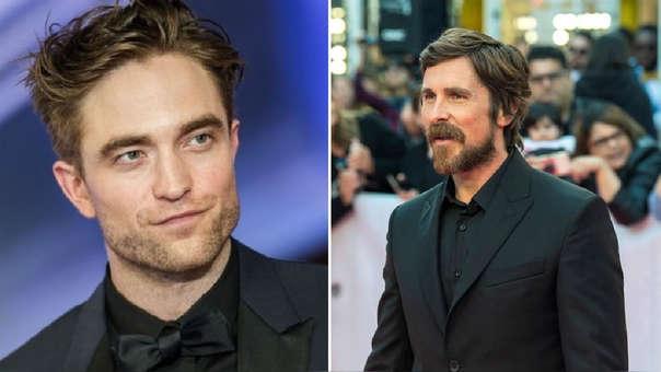 Batman Christian Bale Robert Pattinson