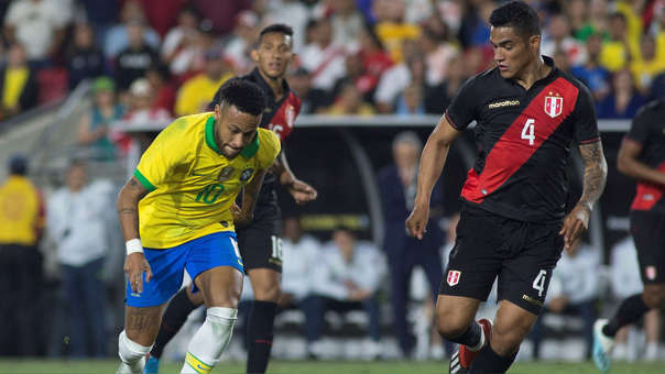 Peru Vs Brasil Con El Gol De Luis Abram La Bicolor Vencio 1 0 En El Amistoso Internacional Por Fecha Fifa Rpp Noticias