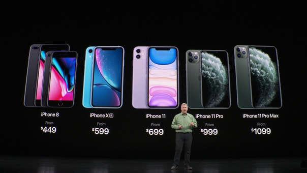 Apple anunció los nuevos precios de su catálogo iPhone en Cupertino, California