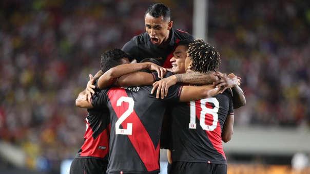 Perú venció 1-0 a Brasil en amistoso internacional en Los Ángeles
