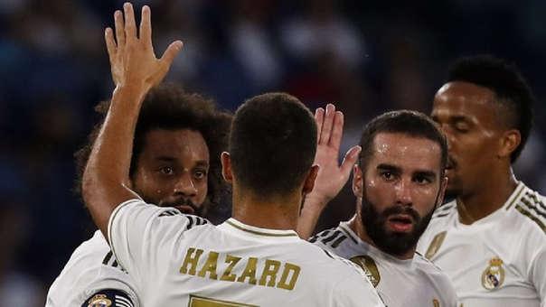 Eden Hazard llegó esta temporada al Real Madrid