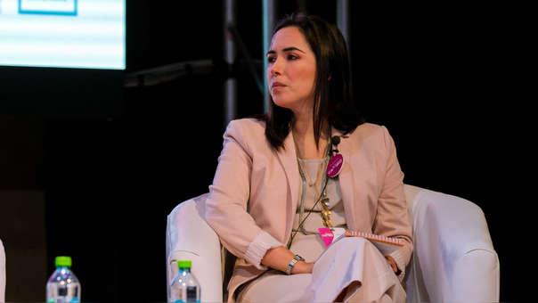 Marlene Molero participó del II foro Mujeres de Cambio de RPP.
