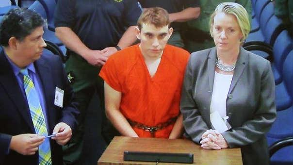 Nikolas Cruz, autor de la masacre en una escuela de Parkland, Florida.